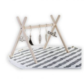 Childhome tipi play gym natural