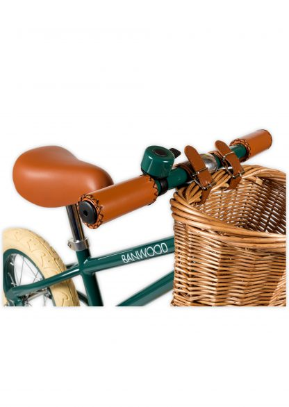 banwood first go groen retro loopfiets