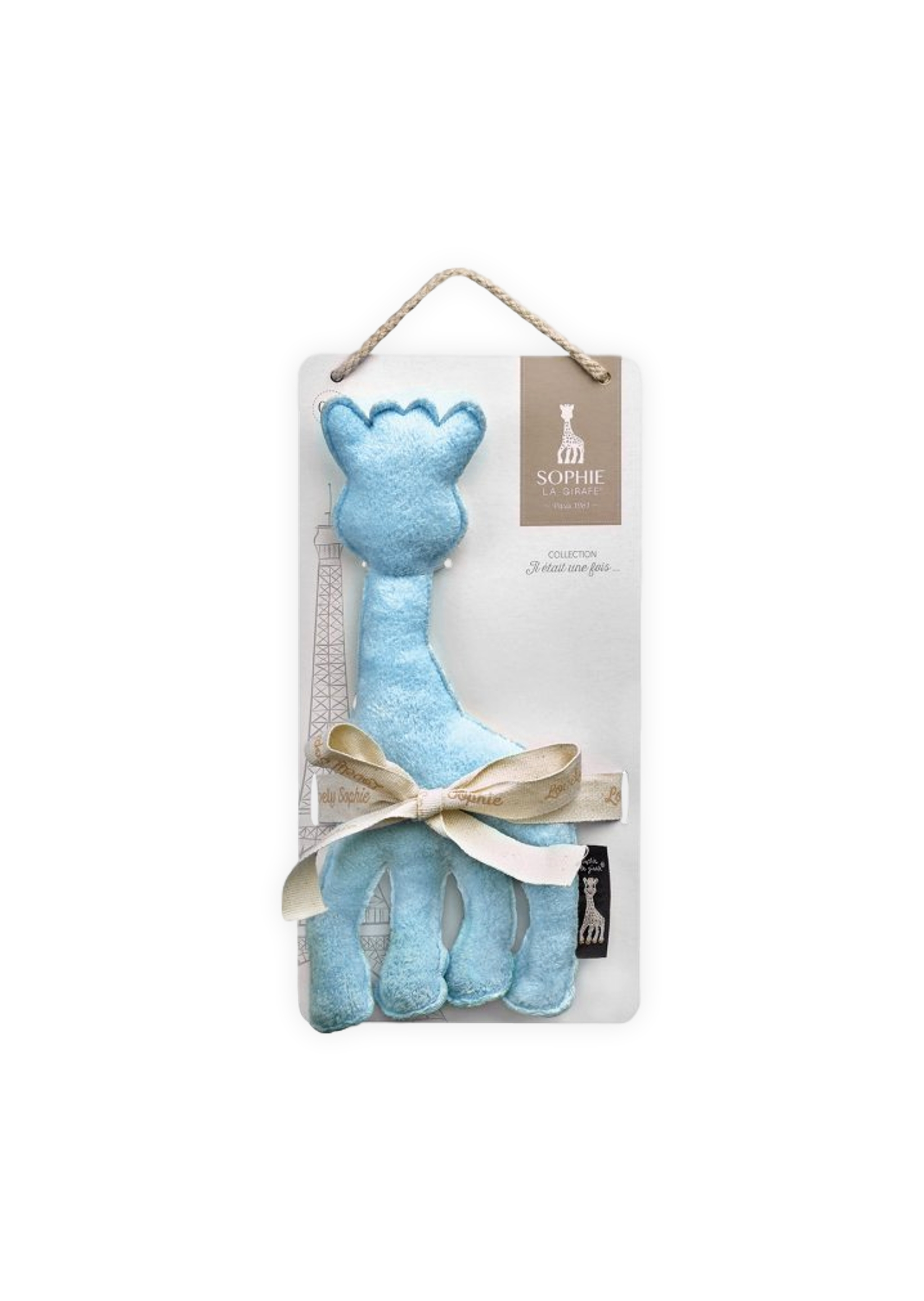 f16cc585b5fd06 Sophie de Giraffe - Knuffel - Blauw | Boutique Toys