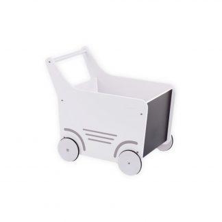 childhome houten loopwagen wit