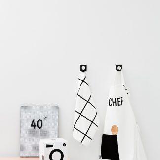 design letters kinder keukenlinnen