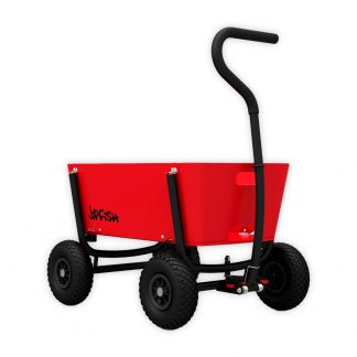 jipfish kids wagon bright red