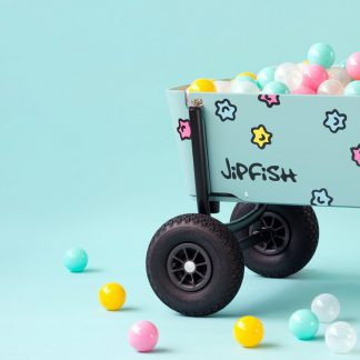 jipfish kids wagon sticker sprite candy