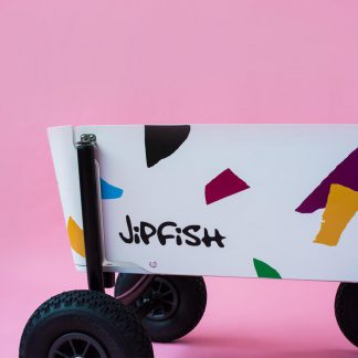 jipfish kids wagon sticker confetti