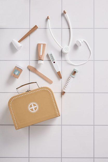 kids concept dokterskoffer mostergeel
