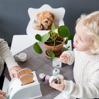 kids concept toaster set voorbeeld