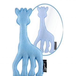 sophie de giraffe knuffel blauw