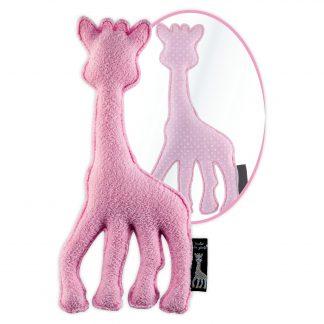 sophie de giraffe knuffel roze