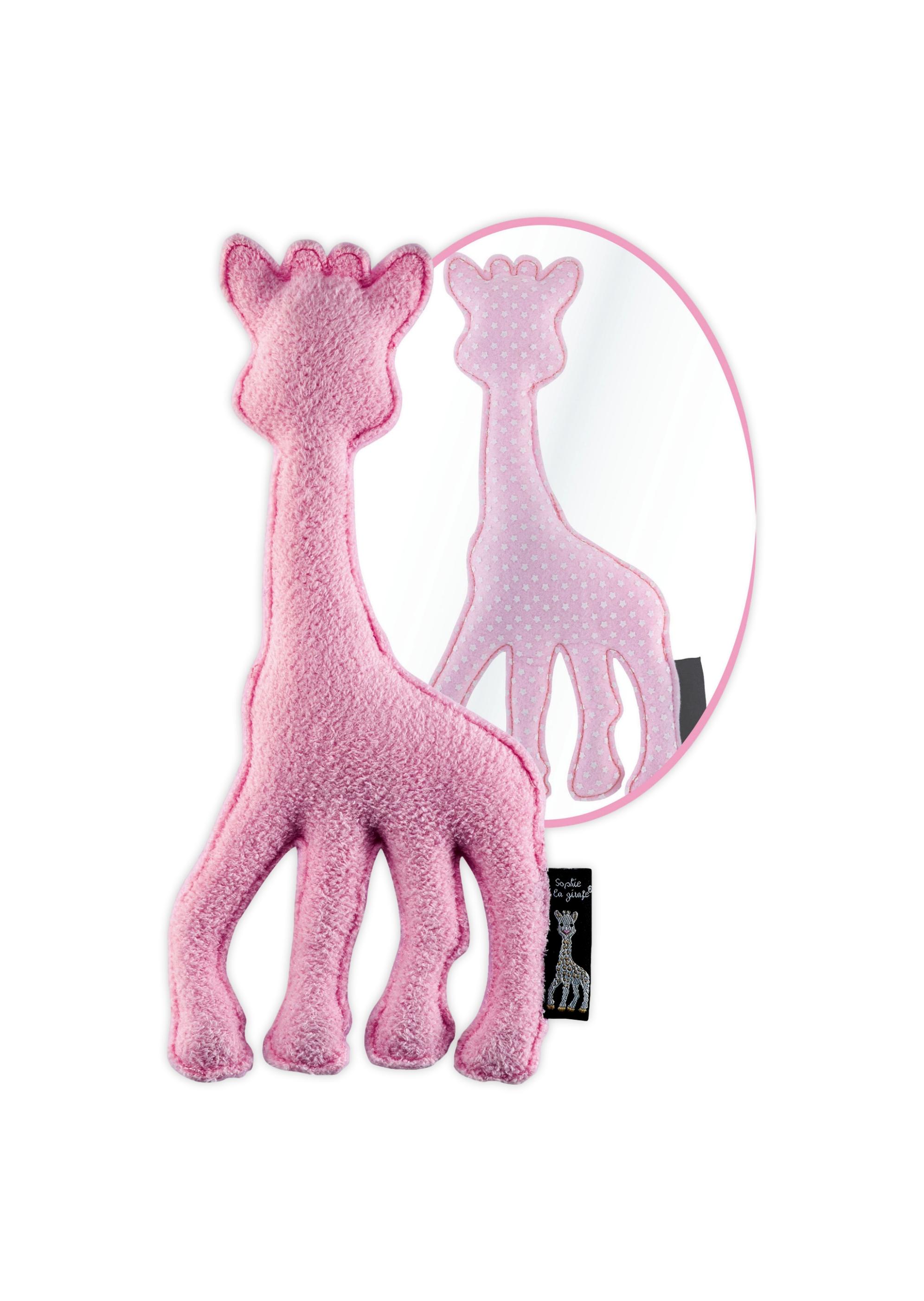ea64894e5dfee7 Sophie de Giraffe - Knuffel - Roze | Boutique Toys