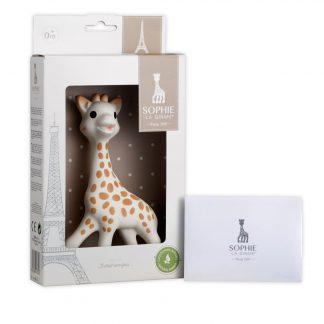 sophie de giraffe bijt-giraffe verpakking