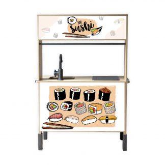 zoeyzo kids concept sushi bar zalm