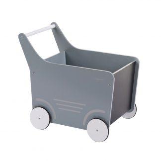 childhome houten loopwagen mint