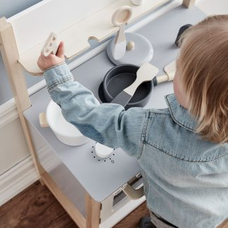 kids concept keuken naturel wit