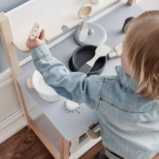 kids concept keuken naturel wit
