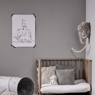 kids concept mammoet muurdecoratie neo