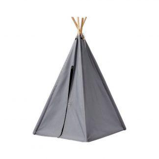 kids concept mini tipi tent grijs
