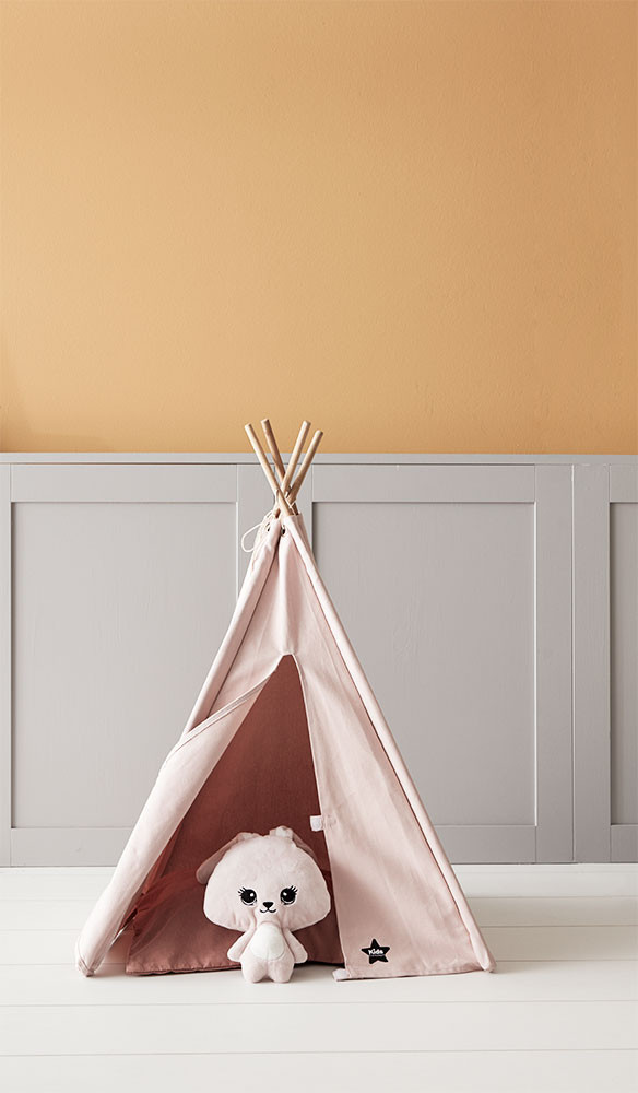 Kids Concept Mini Tipi Tent Grijs | Boutique Toys